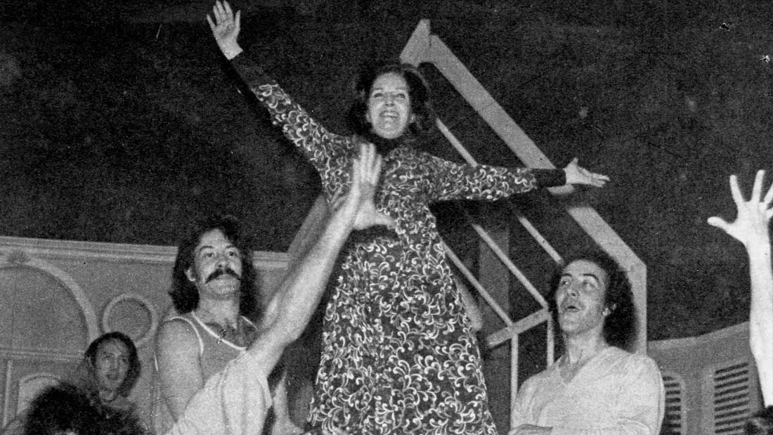 Aplausos 1972 - Grandes Musicales - Teatro El Nacional