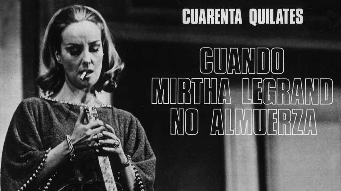 Cuarenta Quilates con Mirtha Legrand en el Teatro El Nacional