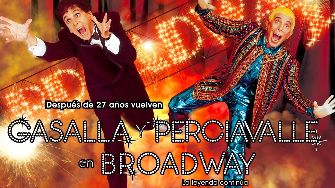Gasalla y Perciavalle 2000 - Teatro El Nacional