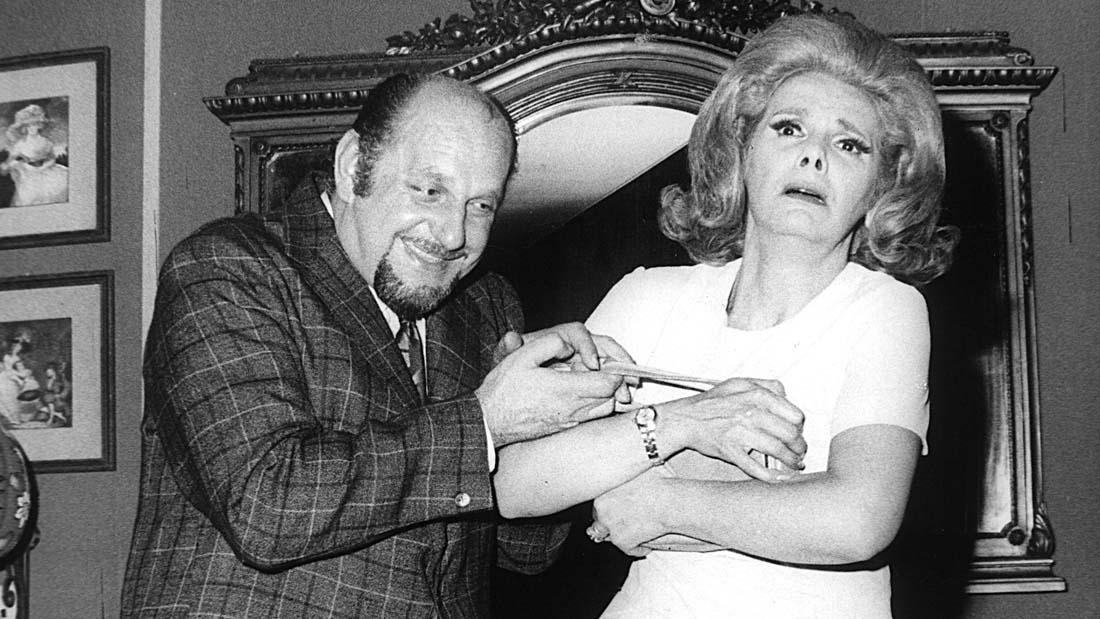 Rossi - Iris Laine en El Ultimo de los Amantes Ardientes - Teatro El Nacional