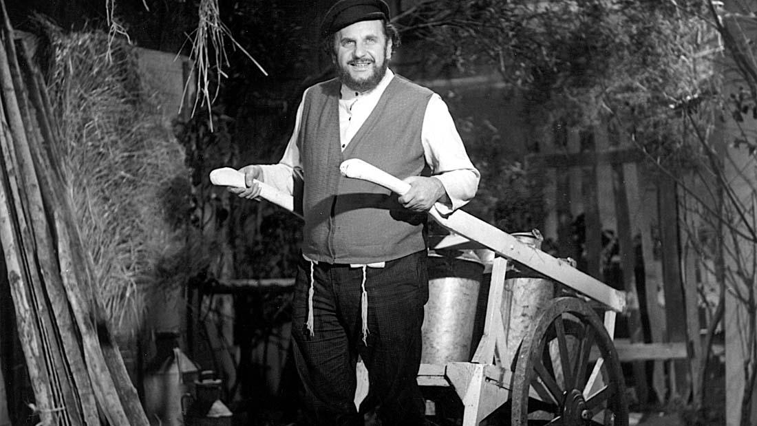 Rossi en El Violinista en el Tejado 1968 - Teatro El Nacional