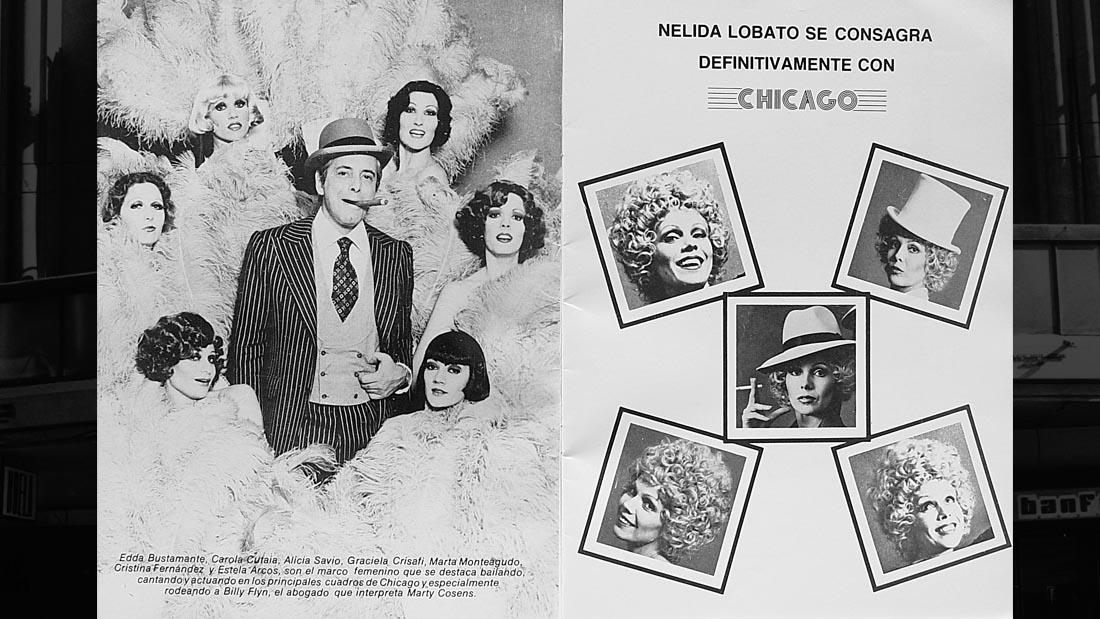 Chicago el Musical con Nelida Lobato - Teatro El Nacional