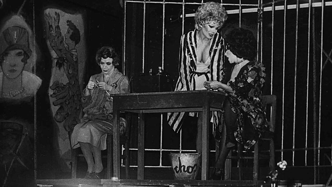 Nelida Lobato en Chicago el Musical - Teatro El Nacional
